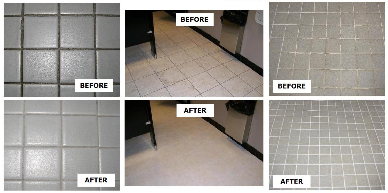 Tile grout refinishing architectural refinishing ceramic tile grout surface refinishing dailygadgetfo Image collections